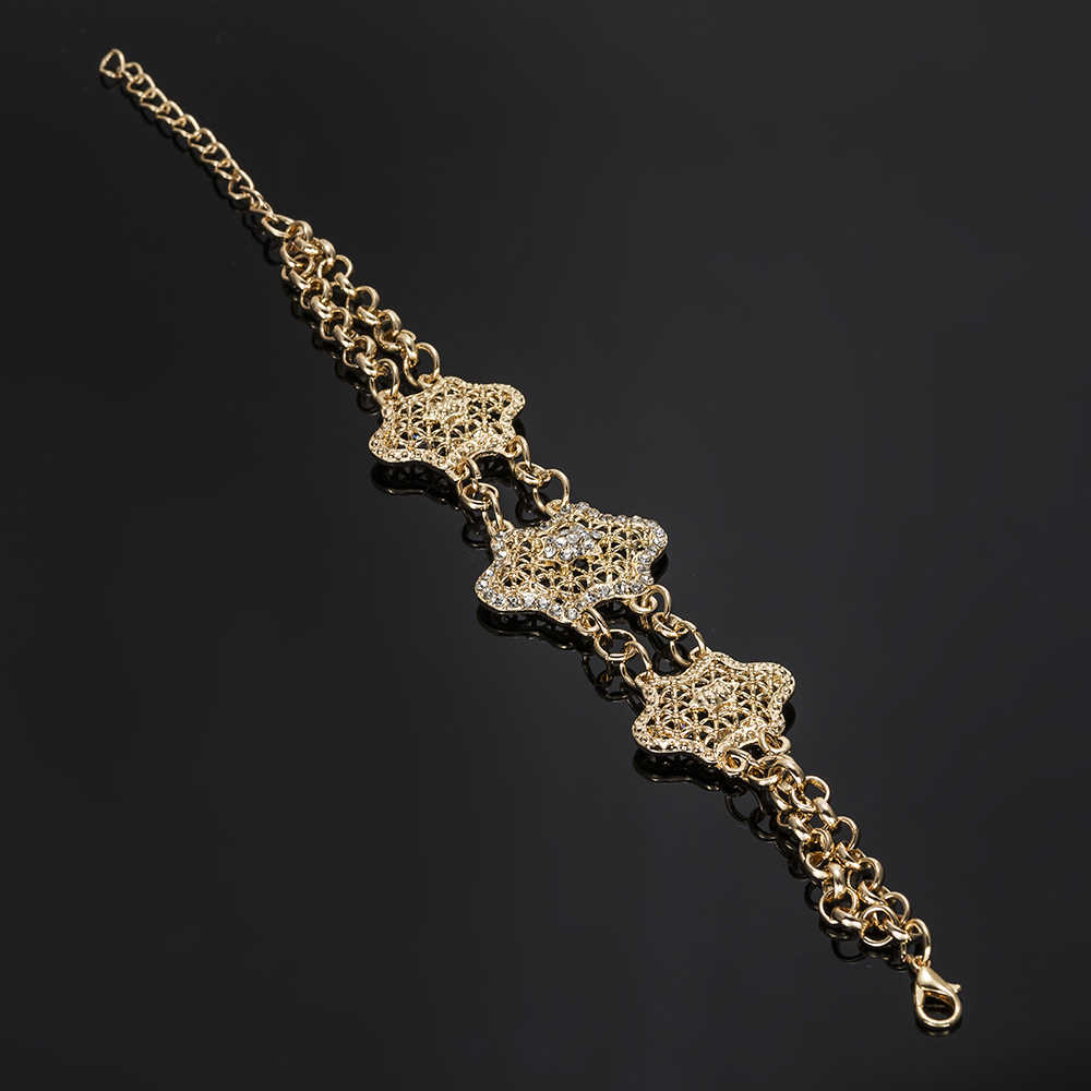 MUKUN турецкие ювелирные изделия из золота из Дубаи Роскошные нигерийские женские свадебные модные африканские бусы Набор украшений для костюма дизайн оптовая продажа