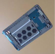 UTILIZADO Para Lenovo IdeaTab S5000 viejo Tablet PC Táctil de Cristal Digitalizador + LCD Display Asamblea Con Marco Frontal