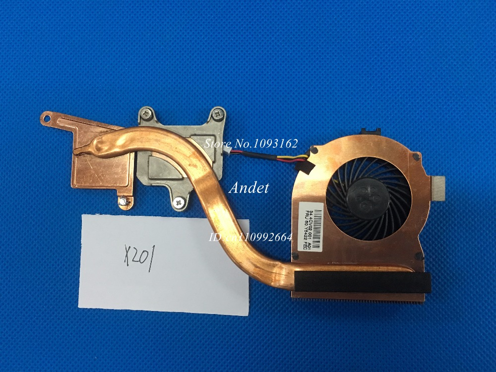 New Original Cooling Fan For Lenovo ThinkPad X201 X201I Heatsink Cooler Radiator 60Y5422 for asus u46e heatsink cooling fan cooler
