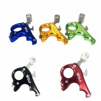 Metal 4 Finger Archery Bow Caliper Grip Release Aid Hunting Archery Steel Bow Shooting Equipment for Arrow