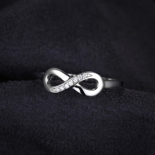 Anniversary Promise Silver Ring For Women