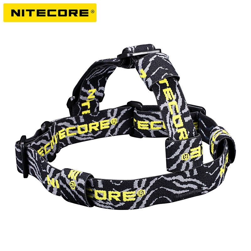 Free Shipping 1PC Nitecore HB02 Flashlight Headlight Headband Strap 2nd Generation For D11/EX1