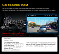 125 Degree Rear Viewing Angle Mini Front USB Port In-car Camera for Android System Car DVR Recorder Reversing Parking Monitor