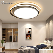 LED Ceiling Lights Creative Bedroom Modern Simple Round Ultra-Thin Master Study Acrylic Lamps