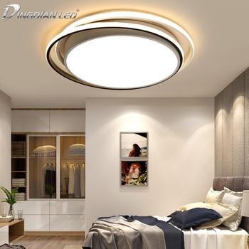 LED Ceiling Lights Creative Bedroom Modern Simple Round ...