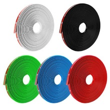 Car Wheel Strip Protector Hub Sticker 8m Decorative Strips Reflective Rim Bike Motorcycle Tape Auto Styling Accessories