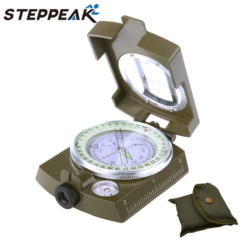 Quality Metal Prismatic Compass Military Model Sale !