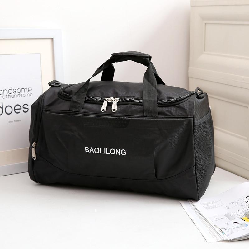 Fashion Shoulder Travel bag  Large Capacity Waterproof Sports Luggage Bag Unisex Portable Foldable duffle bag bolsa de viagem