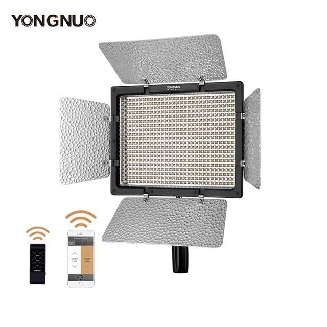 YONGNUO YN600L השני 3200K 5500K YN600 השני 600 וידאו LED אור פנל 2.4G אלחוטי שלט רחוק על ידי טלפון App עבור ראיון מצלמה