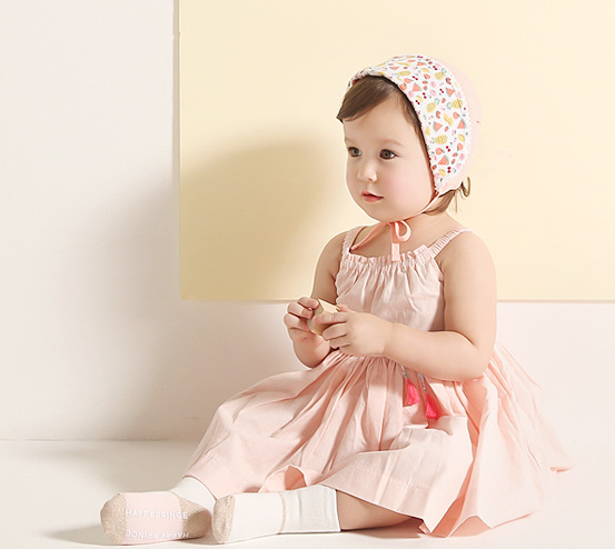 New Korean Children Baby Small Fruit Print Palace Headband Small Floral Flower Hair Accessories 5pcs free