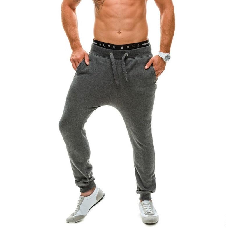 Spring and autumn New Men fashion casual pants 2017 elastic dancing harem pant male street hip-hop slim fit trousers sweatpants