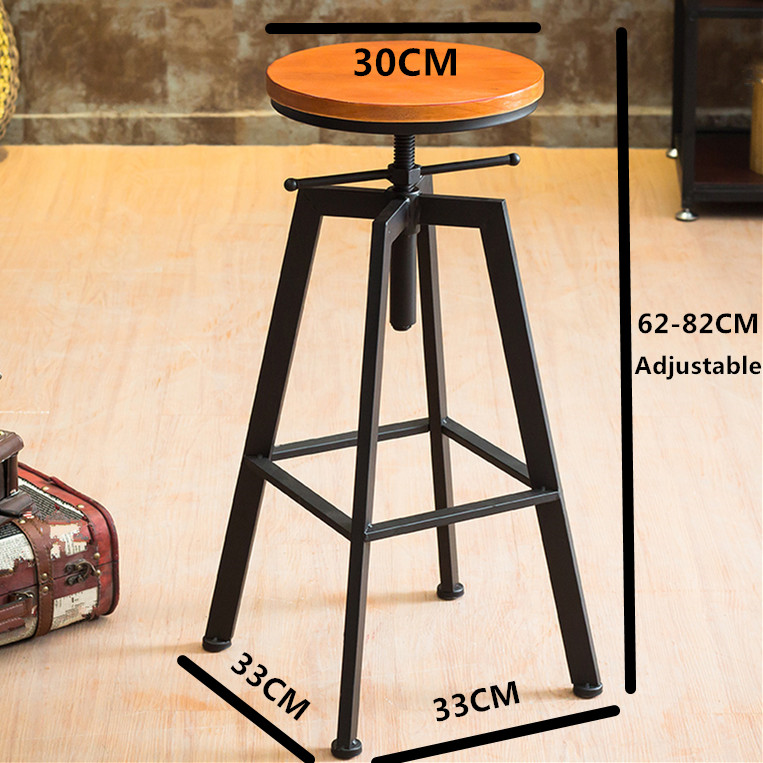 Aliexpress.com  Buy VINTAGE RETRO INDUSTRIAL LOOK RUSTIC SWIVEL KITCHEN BAR STOOL CAFE CHAIR FOR HOME KITCHEN RESTAURANT COFFEE SHOP DINNING from Reliable ... & Aliexpress.com : Buy VINTAGE RETRO INDUSTRIAL LOOK RUSTIC SWIVEL ... islam-shia.org