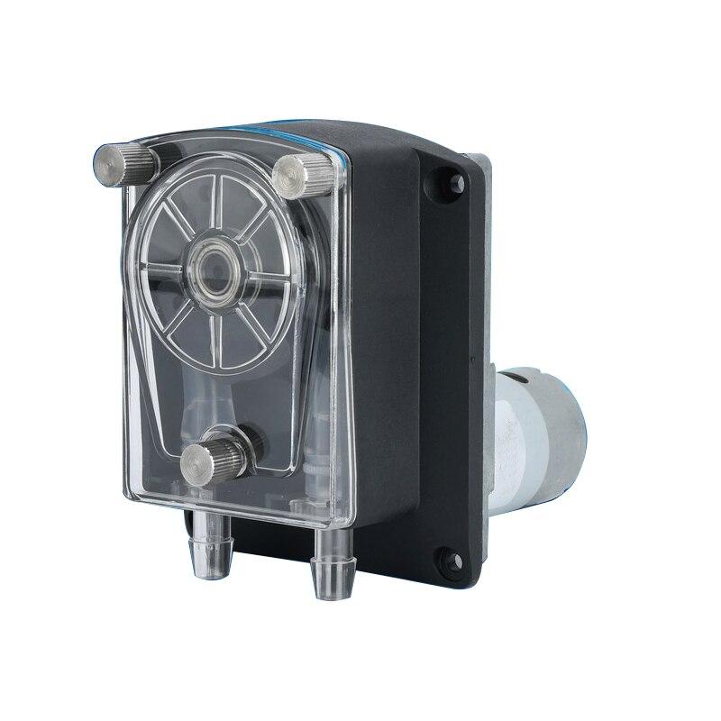 12V/24V DC peristaltic pump dosing pump micro sanitary peristaltic pump max flow rate 3000ml/min(24v) цена и фото