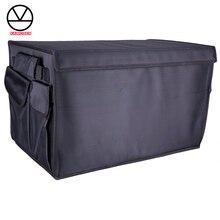 Ağır Oxford Stowing Tidying iç tutucular, araba katlanabilir bagaj organizatör saklama torbaları, 50 KG yük otomatik arka rafları HDTO01