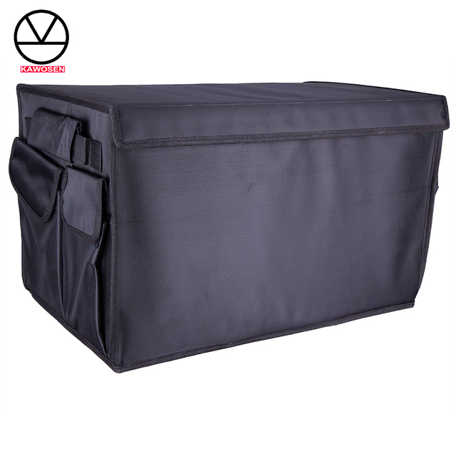 Heavy Duty Oxford Stowing Tidying Interior Holders, Car Foldable Trunk Organizer Storage Bags, 50 KG Load Auto Rear Racks HDTO01