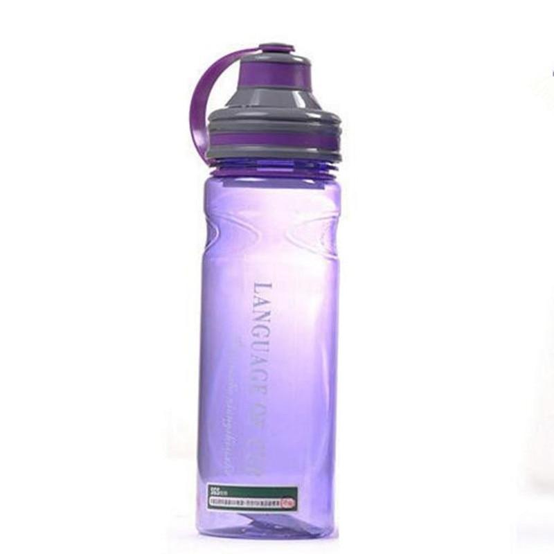 Popular Sports Space Water Bottle 600ml Plastic Bottle Fruit Shaker With Tea Infuser Filter