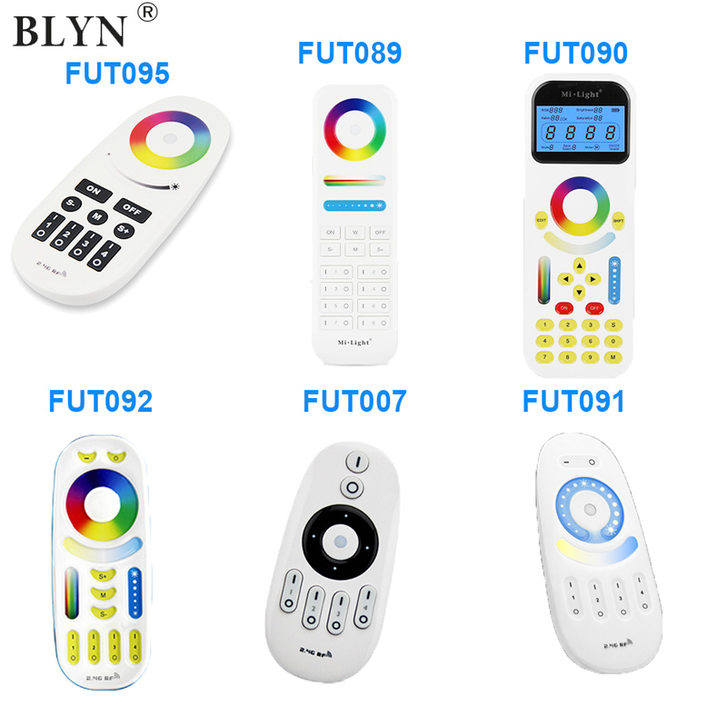 Mi Light WIFI RGB RGBW LED Controller Smart Light Controller DC12-24V IR Remote 4G Group Alexa Control For RGB RGBW LED Strip good group diy kit led display include p8 smd3in1 30pcs led modules 1 pcs rgb led controller 4 pcs led power supply
