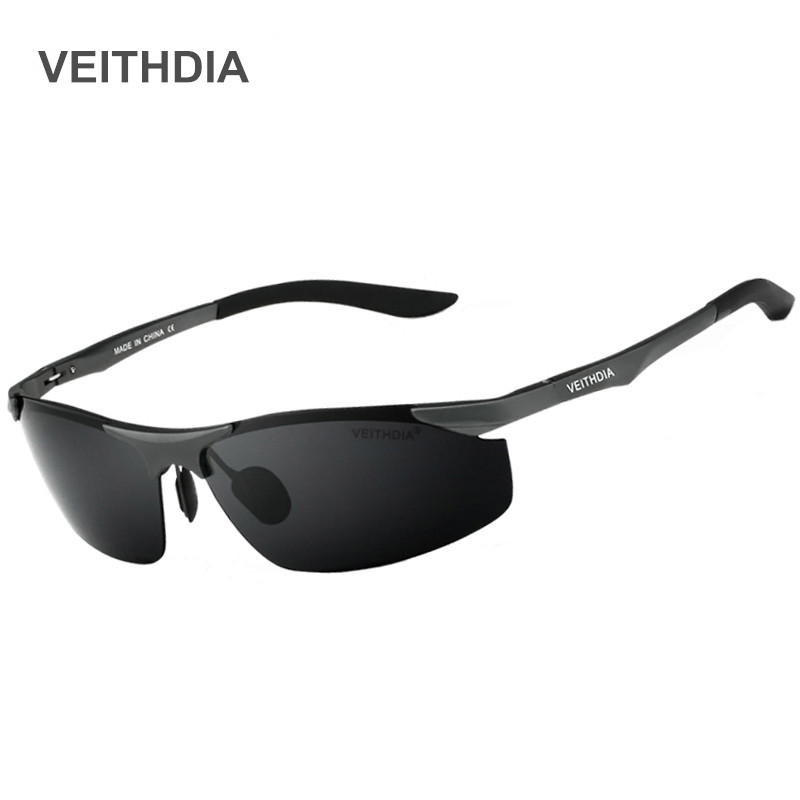 VEITHDIA Aluminum Magnesium Polarized Sunglasses For Men Brand Designer Driving Sunglass Spectacles Men s Eyeglasses 6529