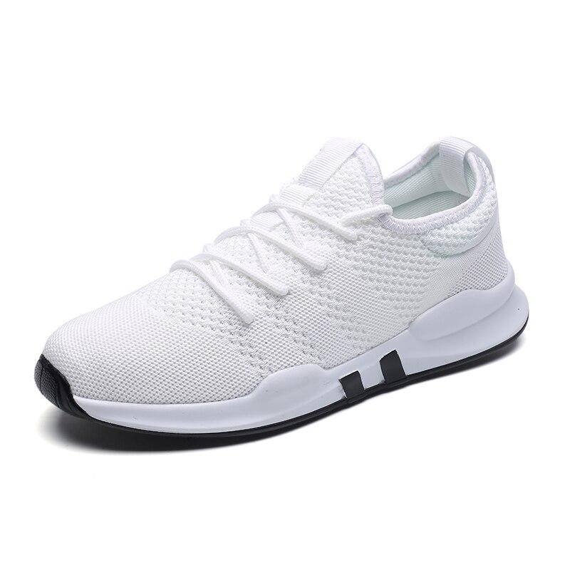 Hombres Hombre Respirable Calzado blanco Adultos Zapatillas Entrenadores Negro Primavera Cómodo Casual Cojín Krasovki gris Luz Zapatos Verano vrBpWwvqfA