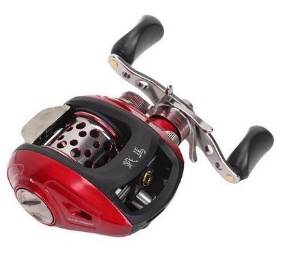 Prix pour Haibo coursier 51/50 MS baitcasting moulinet de pêche, magnétique de frein, 6.5: 1, gauche/main droite, livraison gratuite