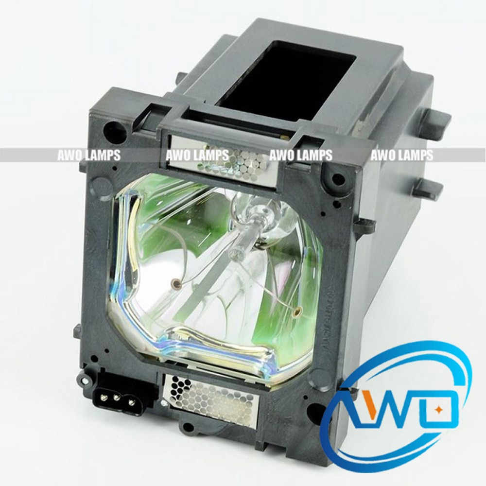 AWO Replacement Projector Lamp 610-357-0464 / LMP149 with Housing for SANYO Projector PLC-HP7000L 150 Day Warranty awo projector lamp sp lamp 005 compatible module for infocus lp240 proxima dp2000s ask c40 150 day warranty