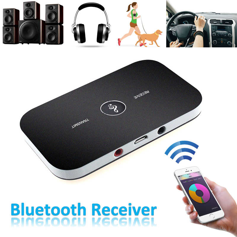 Bluetooth AUX Mini Stereo Audio Receiver Bluetooth Transmitter Auto Bluetooth 4.1 Car Kit 3.5mm MP3 Music Adapter AUX Bluetooth