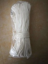 100m High Strength White Dia 8mm Braided Nylon Anchor Rope line for kayak/canoes/boats