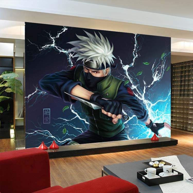 Aliexpress.com : Buy Naruto Kakashi Photo Wallpaper Cartoon Anime Wallpaper  Custom Wall Mural Boys Bedroom Kids Room Decor Classic Home Decoration From  ... Part 34