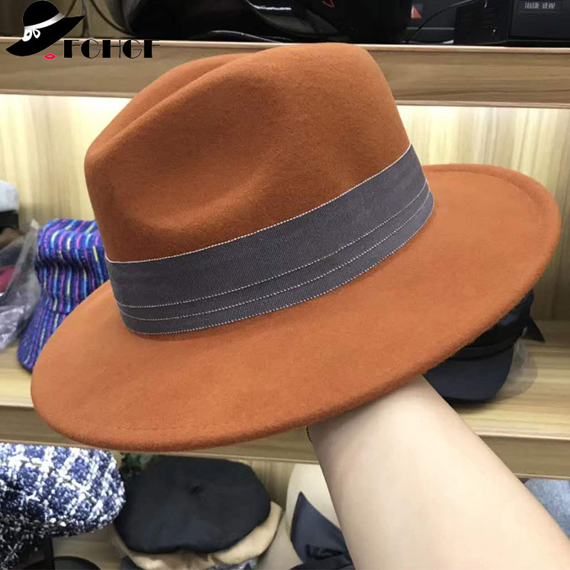 a9c7cd440c4 Our wide brimmed wool floppy hat is made of high quality material and  craftsmanship.