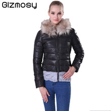 Women Winter jacket Down Cotton Coat Slim Fit Parkas Ladies Padded Plus Size Hooded Collar M-2XL Jackets For Women BN005