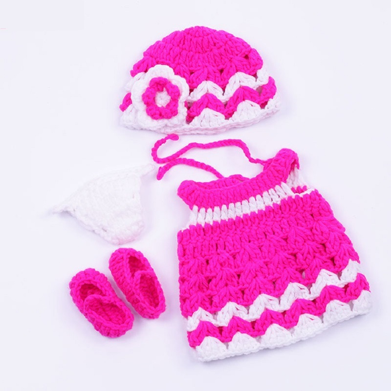 30cm(12) Reborn Doll Suit Handmade Knitted Sweater Including Shoes For Doll Dress Clothes Doll Accessories KF119 19 styles for choose festival gifts for girls suit knitted handmade sweater tops coat dress bobtail clothes for barbie doll
