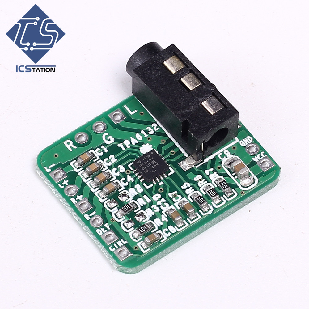 TPA6132 Difference To Balanced Single Port Output Amplifier Board Module 2.3-5.5V HIFI Headphone larry sternberg managing to make a difference