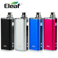 Original Eleaf iStick 20W Battery MOD 2200mAh with LED Display & eGo/510 Adapter Portable MOD Suitable for GS Air Tank Atomizer