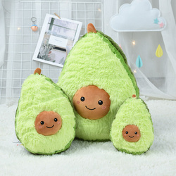 fruits and vegetables Avocado toys for children Soft plush girls doll stuff stuffed Pillow Cushion Anime Cartoon christmas gift