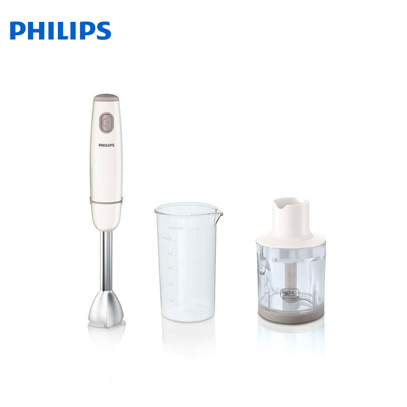 Blender PHILIPS HR 1605/00 blender electric kitchen hand mixer immersion submersible juice professional stick With chopper stainless steel hand wheat grass juicers manual auger slow juice fruit wheatgrass vegetable orange juice extractor machine