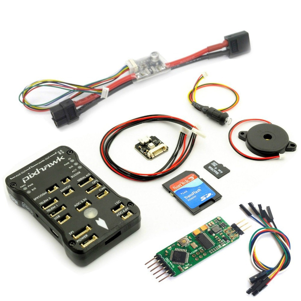 Pixhawk PX4 2.4.5 Flight Controller set + Power Module + Minim OSD