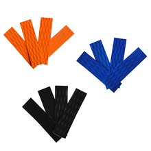 4 Pieces Anti-slip Adhesive EVA Traction Pad Surfing SUP Bar Grips for Surfboard Kiteboard Paddle Board Various Color 4 pieces klm4 transformer for heidelberg klm4 board