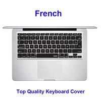 XSKN Máy Tính Xách Tay Pháp Silicone Bàn Phím cover skin protector cho Apple MacBook Pro 13.3/15