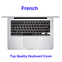Notebook French Silicone Keyboard Cover Skin Protector For Apple MacBook Pro 13 3 15 US Stock