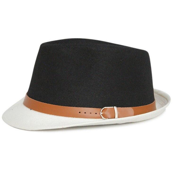 Kagenmo летняя крутая Солнцезащитная шляпа вечерние Кепка джентльмена уличный танец шляпа 11 цветов 1 шт - Цвет: 2