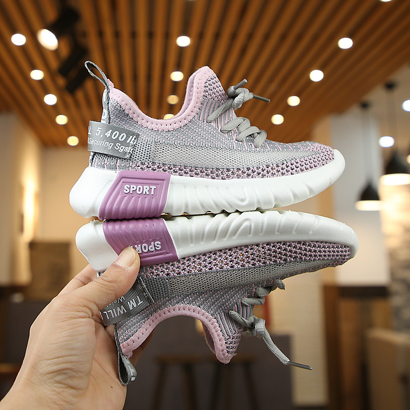 Casual Fashion Breathable Knit Slip Wear Sneakers 3