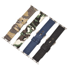 Sport Nylon strap for apple watch 4 band 44mm 40mm correa iwatch series 3 2 1 42mm 38mm Camouflage canvas wrist bracelet belt головка jtc 4917