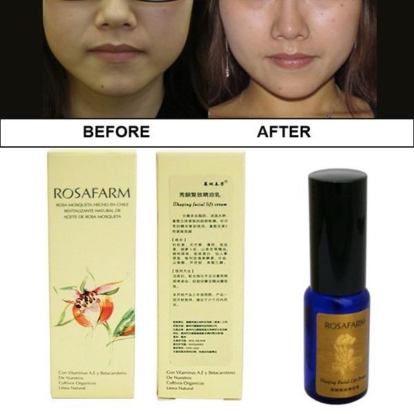 Facial firming creams