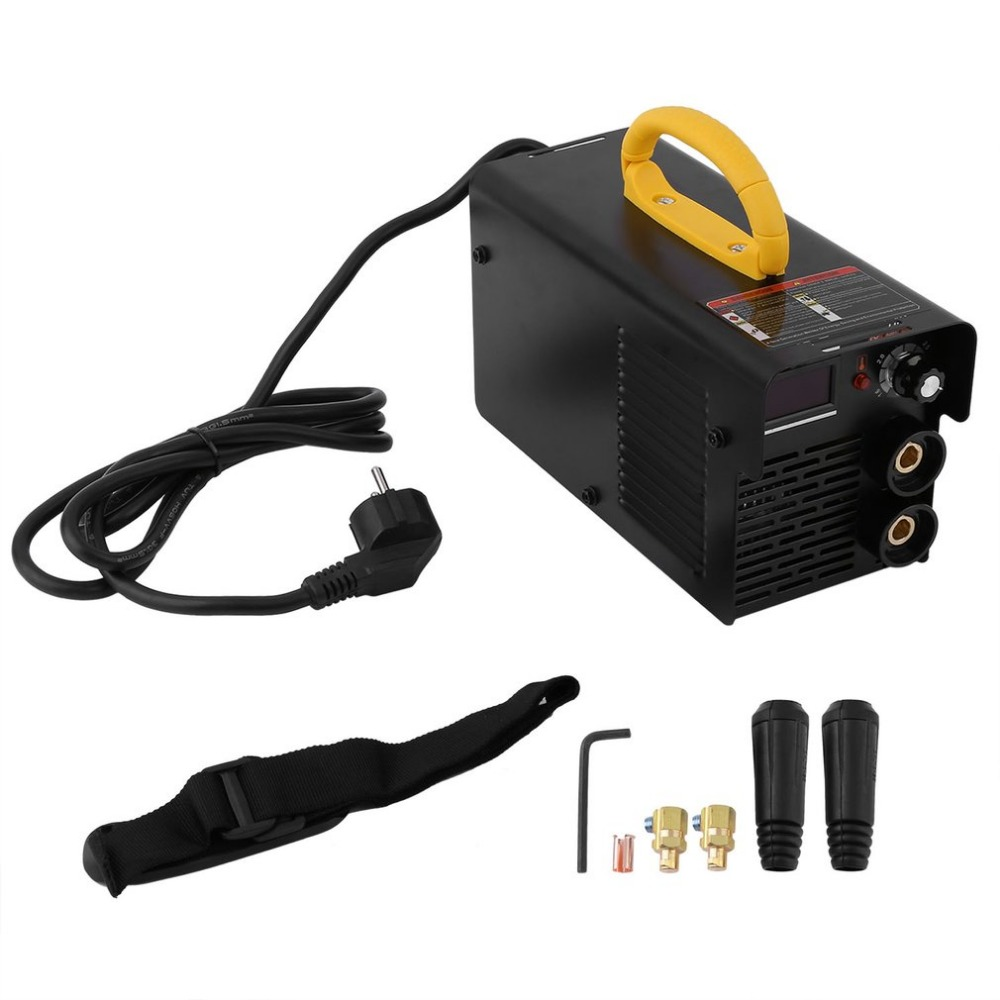 Newest 220V 200A Weld Air Plasma Cutter Portable Welding Inverter Welding Machine With Electrode Holder And Earth Clamp ship from germany portable dc inverter plasma cutter with pressure gauge waterproof 5 5kva 220v