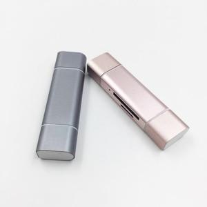 Image 2 - Baolyda نوع C قارئ بطاقات SD بطاقة 5in1 وتغ/USB C قارئ بطاقات مع USB 3.0 مايكرو SD TF نوع C قارئ البطاقات SD ل الهواتف المحمولة
