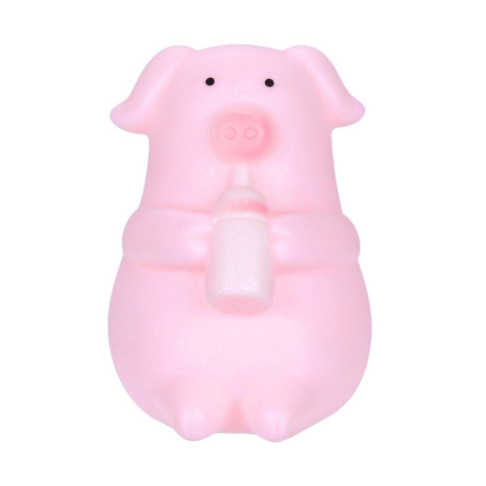 Ehrlich 10 Stücke Nette Cartoon Rosa Schwein Spielzeug Prise Es Machen Pfeife Dekompression Spielzeug Squishy Stress Relief Spielzeug Lustige Kinder Spielzeug 0305
