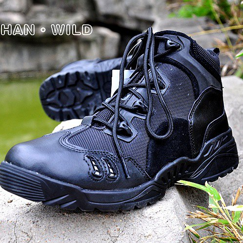 New Sport Army Men Combat Tactical Boots Outdoor Hiking Desert Leather Ankle Boots Military Male Combat Shoes men s outdoor hunting hiking mountain non slip lace up mesh breathable ankle high boots tactical army desert sport shoes boot
