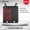 60 pçs/lote aaa grau lcd tela para iphone 5/5s/se/5c lcd screen display touch screen digitador assembléia dhl frete grátis