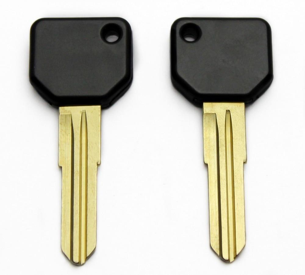 Uncut Blank Key Shell For Toyota Daihatsu Transponder Fob Blank Key Case Cover No Chip 20pcs