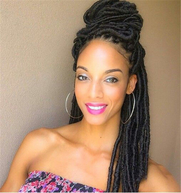 Crochet Hair Faux Locs Dreadlocks Braids Hair Extensions One Piece